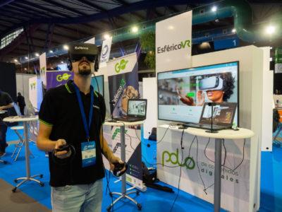 Expositor Realidad Virtual SIMED 2018