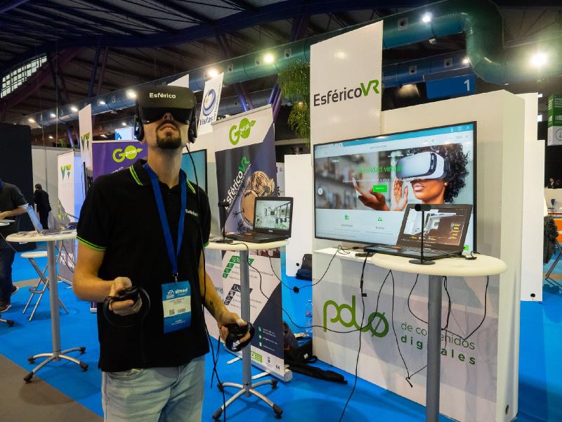 Expositor Realidad Virtual SIMED 2018