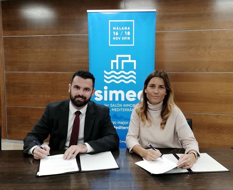 Firma Colaboracion Catedra Inmobiliaria y SIMED 2018