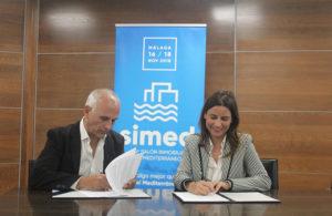 Firma convenio SIMED y PassivHaus Costa del sol