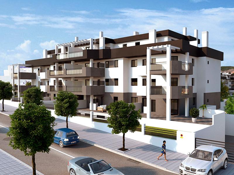 fachada urbanización Torrecañaveral